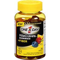 One A Day® VitaCraves® Gummies Plus Fiber