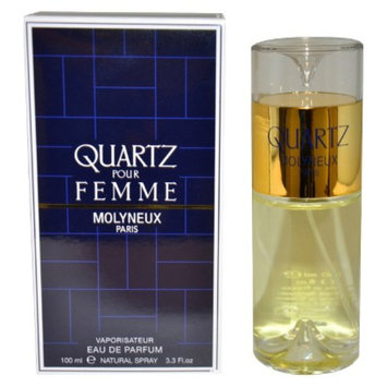 Women's Quartz by Molyneux Eau de Parfum Spray - 3.3 oz