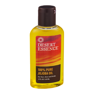 Desert Essence 100% Pure Jojoba Oil for Hair, Skin and Scalp