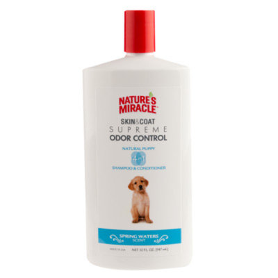 Nature's Miracle NATURE'S MIRACLETM Spring Waters Scented Puppy Shampoo & Conditioner