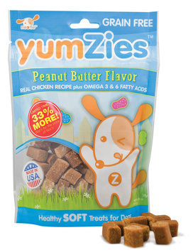 Sentron YumZies, Natural Peanut Butter Flavor, Regular, 8 oz.