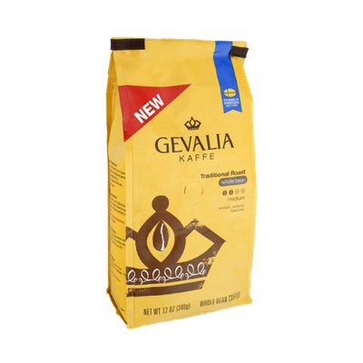 Gevalia Kaffee Traditional Roast Whole Bean Medium Coffee