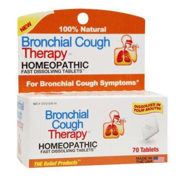 The Relief Products Bronchial Cough Therapy Homeopathic Fast Dissolving Tablets, 70 ea