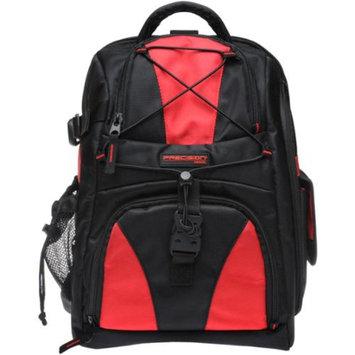Precision Design Multi-Use Laptop/Tablet Digital SLR Camera Backpack Case (Black/Red)