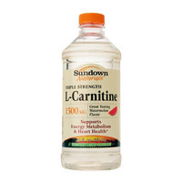 Sundown Naturals Triple Strength L-Carnitine 1500mg