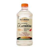 Sundown Naturals Triple Strength L-Carnitine 1500mg