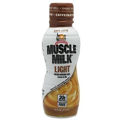 Muscle Milk RTD Cafe Latte, Light, 14 Ounce