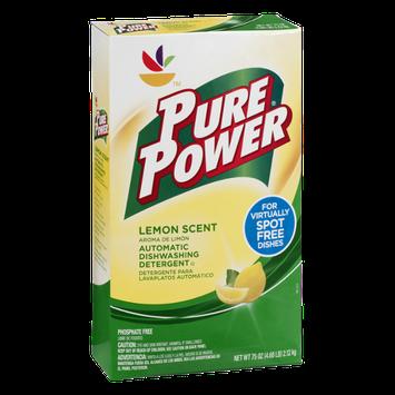 Pure Power Automatic Dishwashing Detergent Lemon Scent