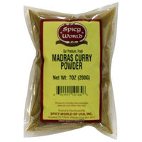 Spicy World Madras Curry Powder, 7-Ounce Pouches (Pack of 6)