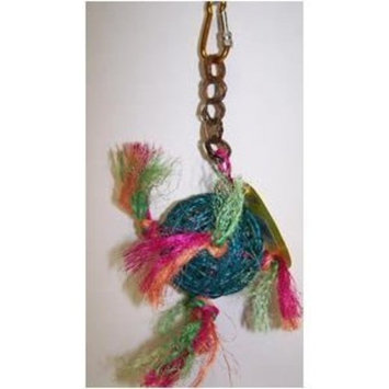 Pet's Choice Pets Choice 463-00203 Hanging 3 in Twine Ball With Sisal Rope Bird Toy