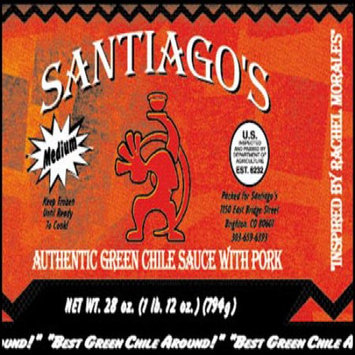 Santiagos Green Chile Sauce With Pork