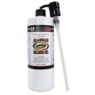Thomas Laboratories Alaskan Salmon Oil, 32 Fluid Ounce