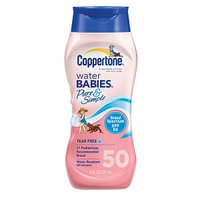 Coppertone Water Babies Pure and Simple