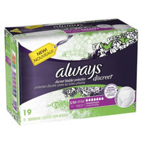 Always Discreet Maximum Absorbency Incontinence Underwear