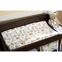 Kidsline Kids Line Velour Changing Pad Cover, Mosaic Transport (Discontinued by Manufacturer)