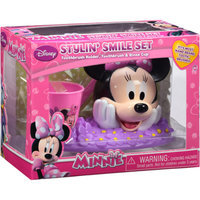 MINNIE MOUSE - DIS Disney's Minnie Dental Hygiene Stylin' Smile Set, 3 pc