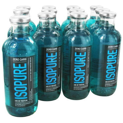 tures Best Nature's Best - Isopure Zero Carb RTD Blue Raspberry - 12 Bottles