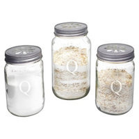 Cathy's Concepts Personalized Mason Jar Sand Ceremony Set with Letter Q