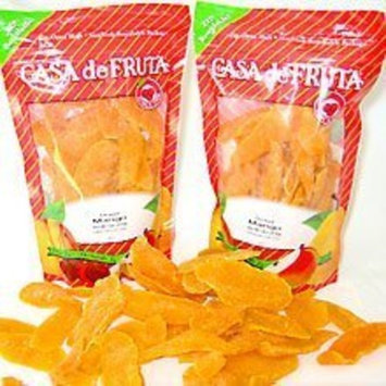 Casa Fruit Snacks Dried Mangos - 13 oz. Resealable Bag