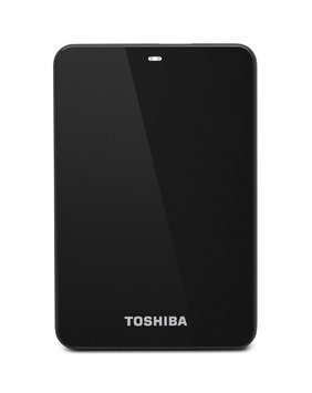 Toshiba Canvio Connect 500GB Portable External Hard Drive, Black