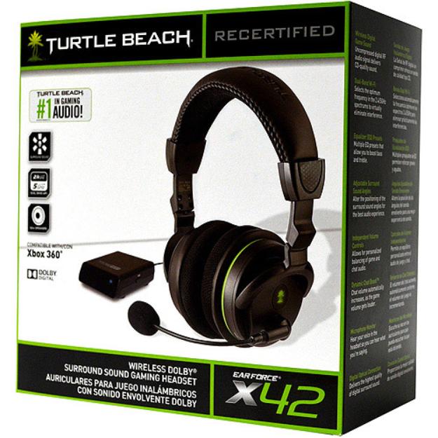 Turtle Beach FG Ear Force X42 Headset, Refurbished (Xbox 360/Xbox One)