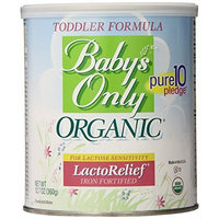 Babys Only Baby's Only Toddler Formula, Lactose Relief, Organic, 12.7-Ounce Can