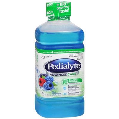 Pedialyte AdvancedCare, Blue Raspberry, 1 L
