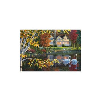 Kim Norlien - Peace and Tranquility Series - Autumn Reflections 1000 Piece EZ Puzzle