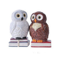 4.75 inches Book Owls Hedwig Magnetic Salt and Pepper Shaker Kitchen Set