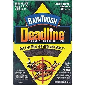 Excel Deadline Raintough Slug and Snail Killer, 3-Pound
