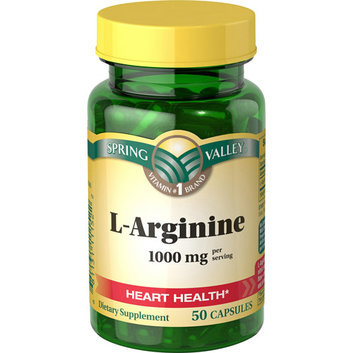 Spring Valley L-Arginine 500mg
