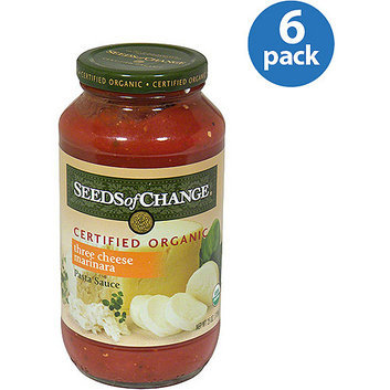 First Colony Coffee Seeds Of Change Three Cheese Marinara Sauce