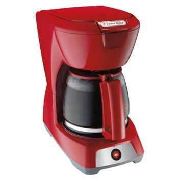 Proctor Silex 12 Cup Coffeemaker - Red