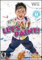 Zoo Games Let's Paint