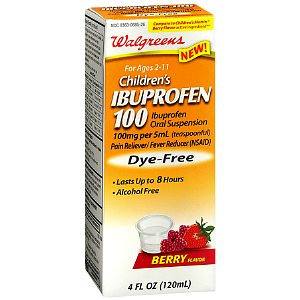 Walgreens Children's Ibuprofen 100 Oral Suspension Dye-Free