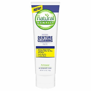 The Natural Dentist Natural Denture Cleaning Paste