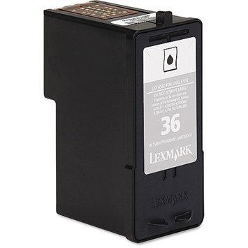 Lexmark #36 Black Ink Cartridge