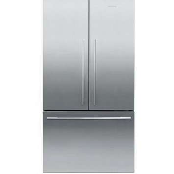 Fisher & Paykel Fisher Paykel RF201ADX5 20.1 Cu. Ft. Stainless Steel Counter Depth French Door Refrigerator - Energy Star