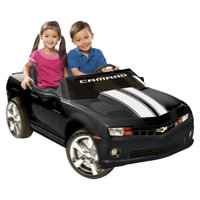 National Products LTD. Kid Motorz Chevrolet Camaro 12V Two Seater Ride On - Black