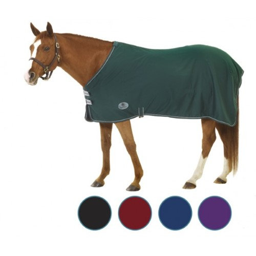 "Equiessentials Cotton Ripstop Stable Sheet 78"" Navy"