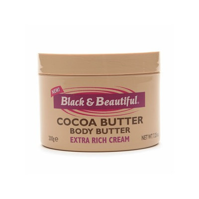Black & Beautiful Cocoa Butter Body Butter Extra Rich Cream