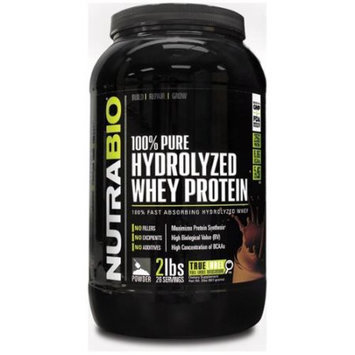 NutraBio 100 Whey Protein Isolate - 2 pounds Chocolate