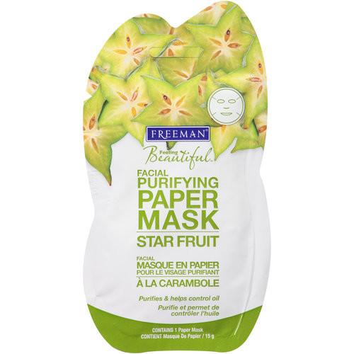 Freeman Star Fruit Facial Purifying Paper Mask