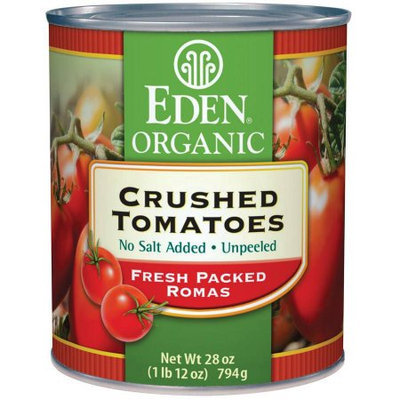 Eden Organic EDEN Crushed Tomatoes, Organic, 28 Ounce (Pack of 6)