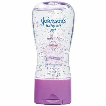 Johnson's Lavender Baby Oil Gel