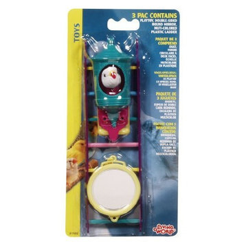 Hagen Living World Assorted Toys, 3 Value Pack