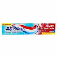 Aquafresh Cavity Protection Fluoride Toothpaste, Cool Mint, 5.6 oz