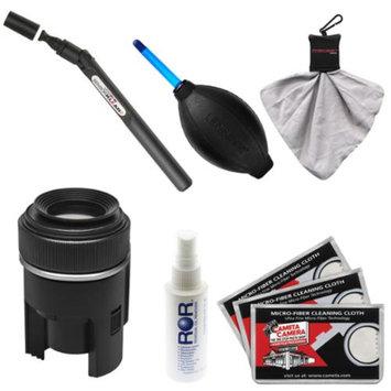 LENSPEN Lenspen SensorKlear II Pen with Loupe SENSOR Cleaning System + Kit for Canon, Nikon, Fuji, Olympus, Panasonic, Pentax & Sony ILC/DSLR Cameras