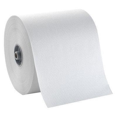 TOUGH GUY 32XR96 Paper Towel Roll,800 ft, White, PK6