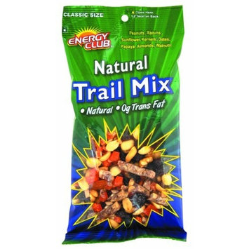 Energy Club Natural Trail Mix, 6.5-Ounce Bags (Pack of 6)